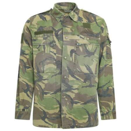 img-Dutch Army Surplus DPM Camouflage Heavyweight Shirt Jacket Military Clothing