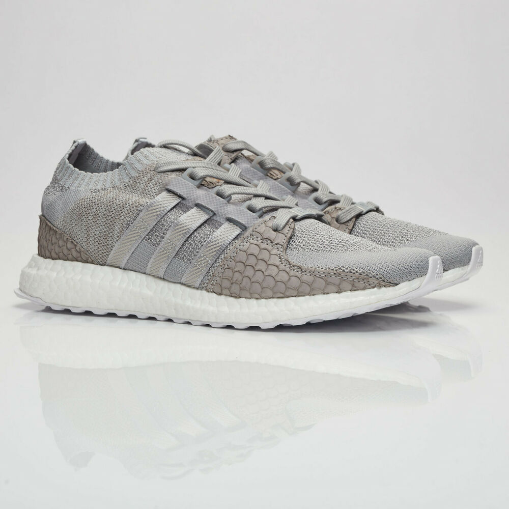 e0a12d426730 Details about adidas X Pusha T EQT Support Ultra PK King Push Stone Trainers  S76777 Sizes 4-12