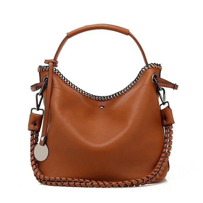 7f106960b96 Details about Zara Kelly Designer Slouch bag with chain detail (Various  colours)