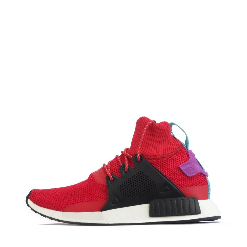 6e5503fbf21da Details about adidas Originals NMD XR1 Winter Mens Trainers in Red
