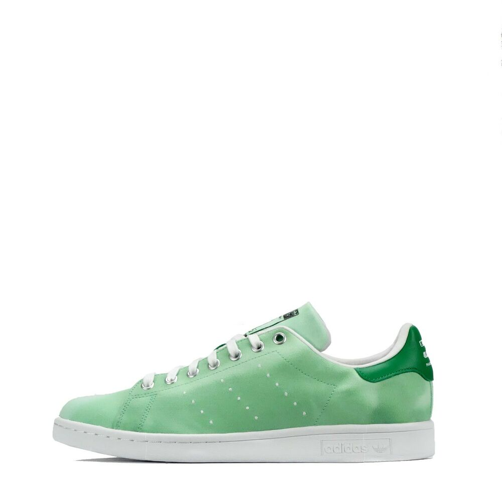 5f448949c3058 Details about adidas Originals Pharrell Williams HU Holi Stan Smith Men s Trainers  Green