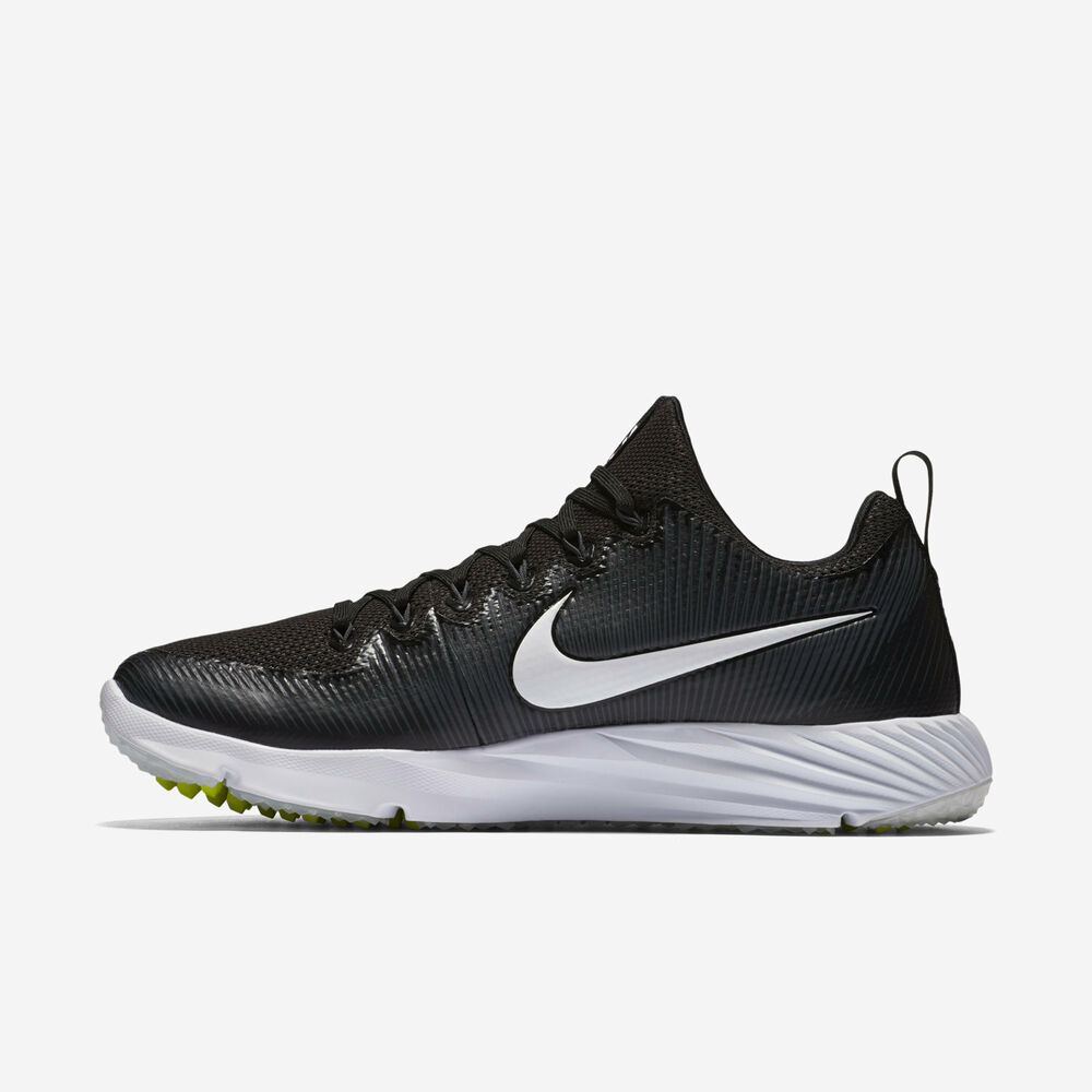 buy popular 0e3ab 09ebb Details about Nike Vapor Speed Turf Pre-Game Shoes Size 8 12 13 14 16 Black  833408-017 Coaches