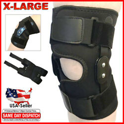 Kyпить FDA Approved Adjustable Hinged Knee Brace Patella Compression Support Relief XL на еВаy.соm