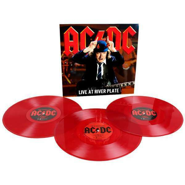 AC/Dc - Live At River Plate (140g 3LP RED VINILE) HARD ROCK CLASSIC 2012