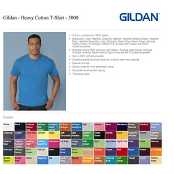 Kyпить 100 Gildan T-SHIRTS BLANK BULK LOTS Colors or 100 White Plain S--XL Wholesale 50 на еВаy.соm