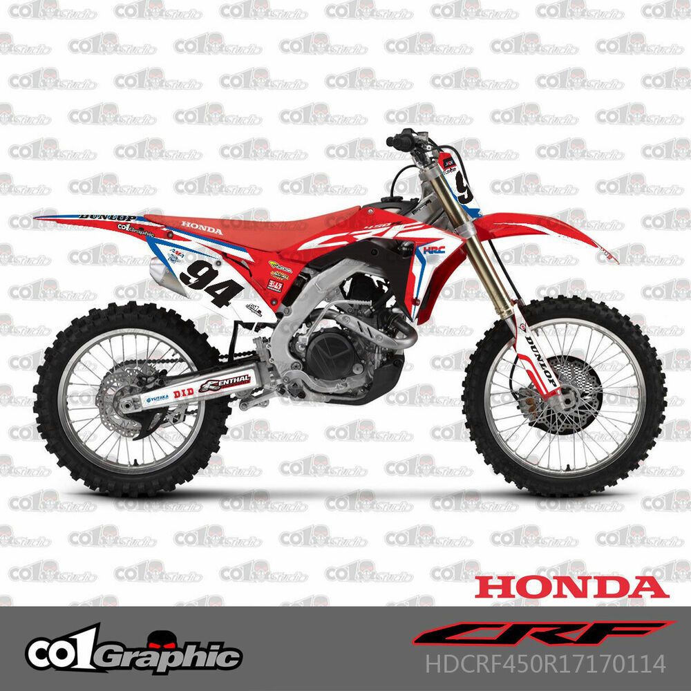 2006 Honda Crf450r: GRAPHICS DECALS STICKERS FULL KIT FOR HONDA CRF250R 2018