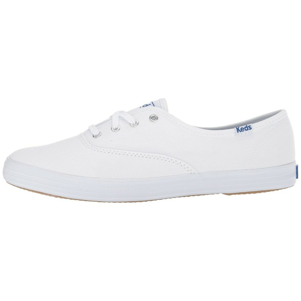 4e04b07c62c96 Details about Women s Keds Champion Oxford Canvas Fashion Sneaker White  Canvas All Sizes NIB