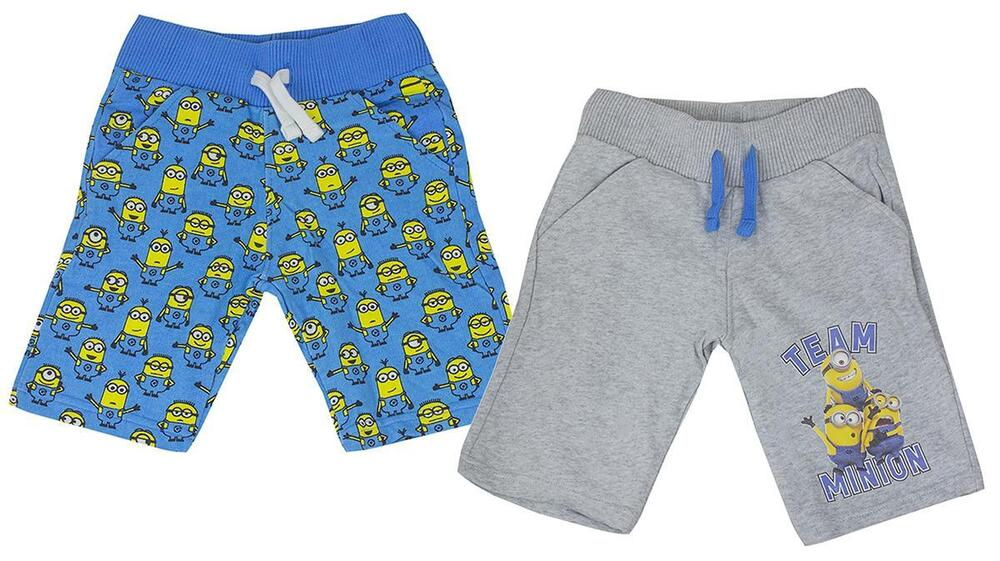 c089c094b1a32 Details about Boys Shorts Despicable Me Summer Team Minions Beach Sun 12  Months to 7 Years