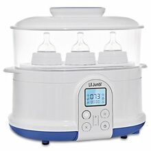 Lil' Jumbl 4-in-1 Bottle Sterilizer Warmer & Dryer w/ Food Steamer Function
