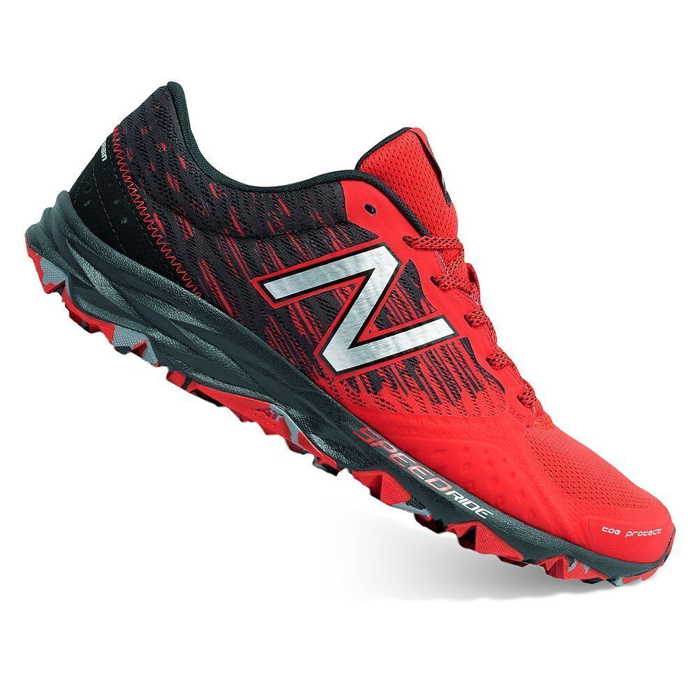 quality design 6185d 0dae2 Details about NIB New Balance MEN'S 690 V2 4E WIDE TRAIL RUNNING SHOES Red  590 412 620