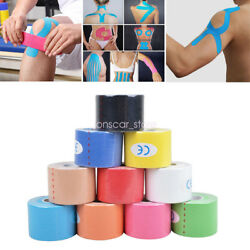 Breathable 1 Roll Kinesiology Muscle Tape Sports Athletic Elastic Physio Bandage