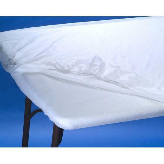 100 Ct Disposable Elastic Fitted Bed Sheets Cover Massage Table