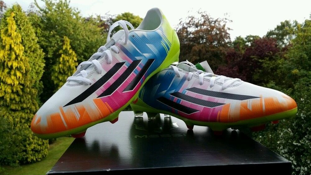 Adidas F10 Messi TRX Firm Ground Football Boots Multi coloured UK Size 11 BNIB | eBay