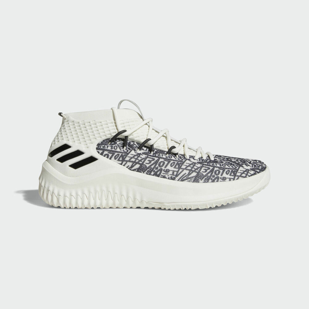 brand new b0514 e9c02 Details about Adidas Dame 4 AQ0597 Men Basketball Shoes Damian Lillard  WhiteBlack