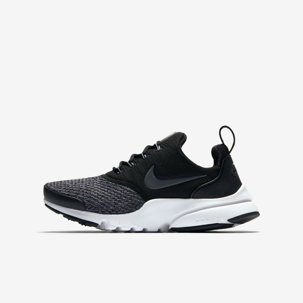 d73dbe9ae481 Details about Nike Presto Fly Se Trainer Running Shoe Boys Girls Size 4.5  5.5 Black Anthracite