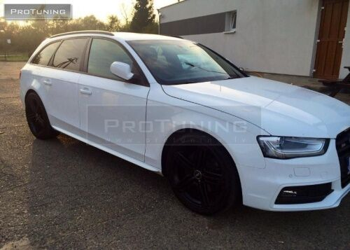 sill covers for audi a4 b8 performance s line side skirts. Black Bedroom Furniture Sets. Home Design Ideas