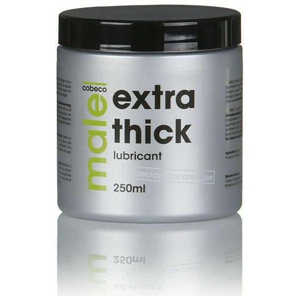 Details about COBECO MALE EXTRA THICK Lubricant Anal Sex Lube 250ml