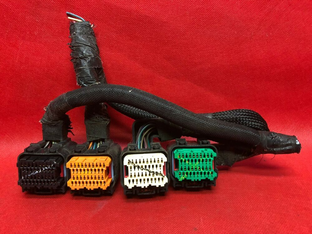 06 Pt Cruiser Ecm Ecu Wiring Harness Plugs Connectors Pcm