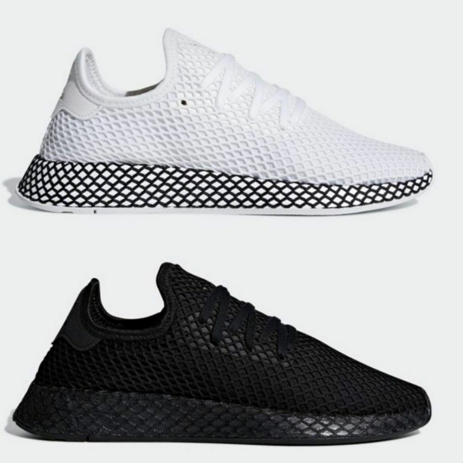 the latest 57579 9272c Adidas Originals Deerupt Runner Shoes B41767 B41768 SIZE 4-1