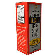URINE SALIVA BLOOD DETOX PURITY LABS ALL IN ONE USB BODY CLEANSE PASS TEST