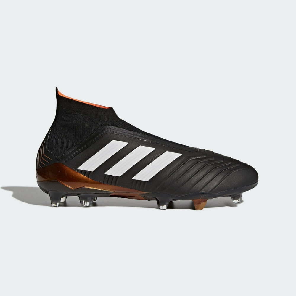 4661188d1b Details about adidas Predator 18+ FG Soccer Cleats Sizes 8.5-13 Core Black  White Gold BB6316