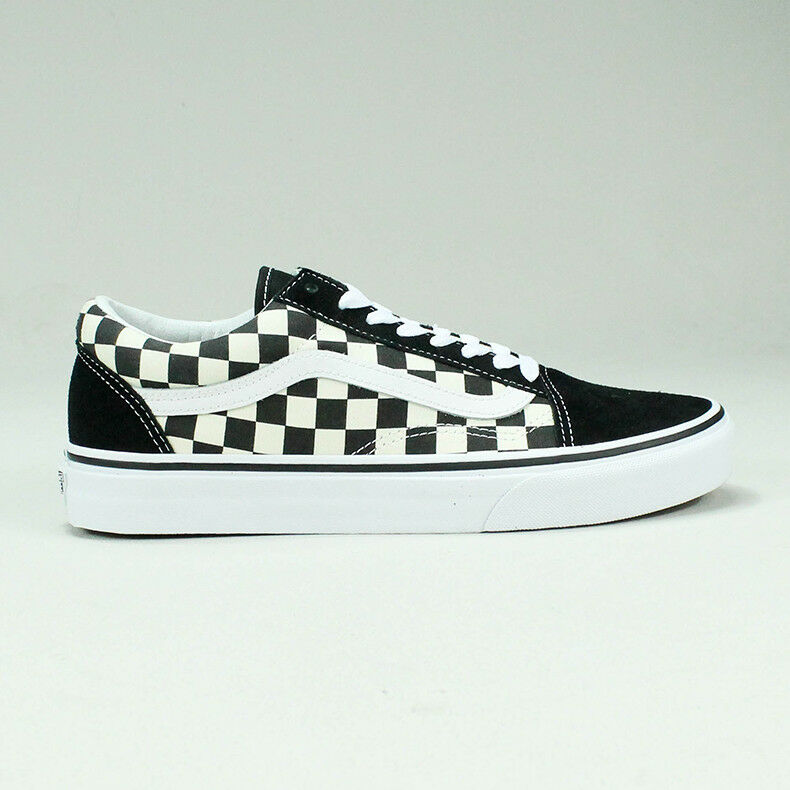 a5ddfcfeb6 Vans Old Skool Primary Check Trainers Shoes Skate UK Size 6
