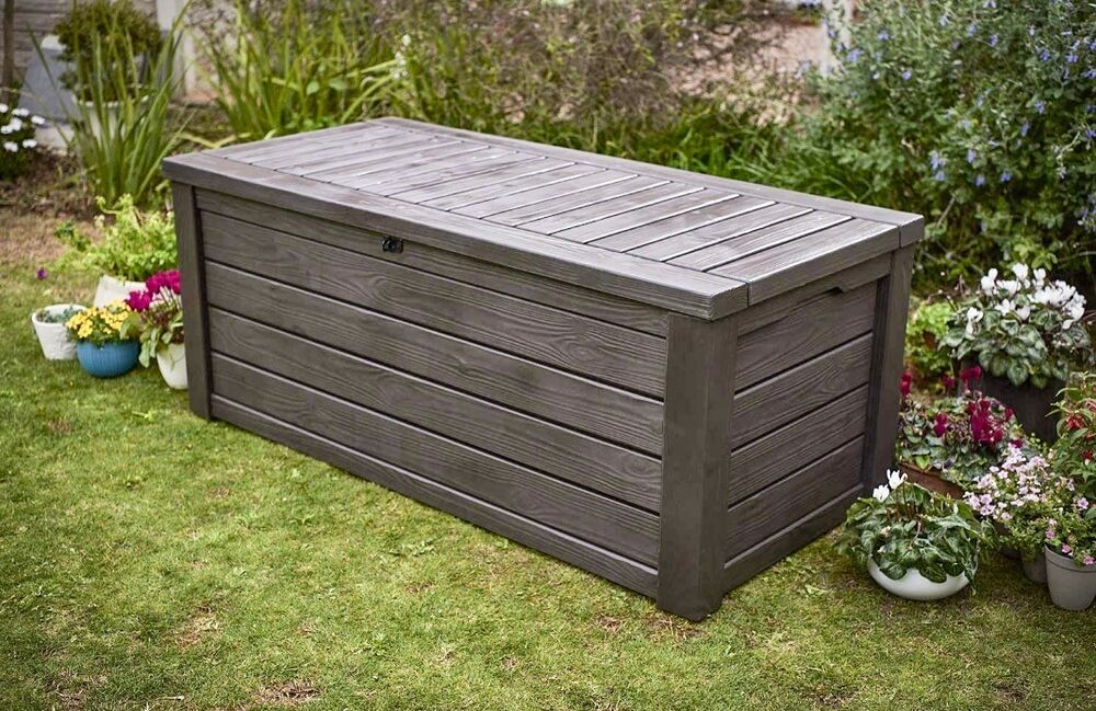 Extra Large Outdoor Storage Box Heavy Duty Swimming Pool