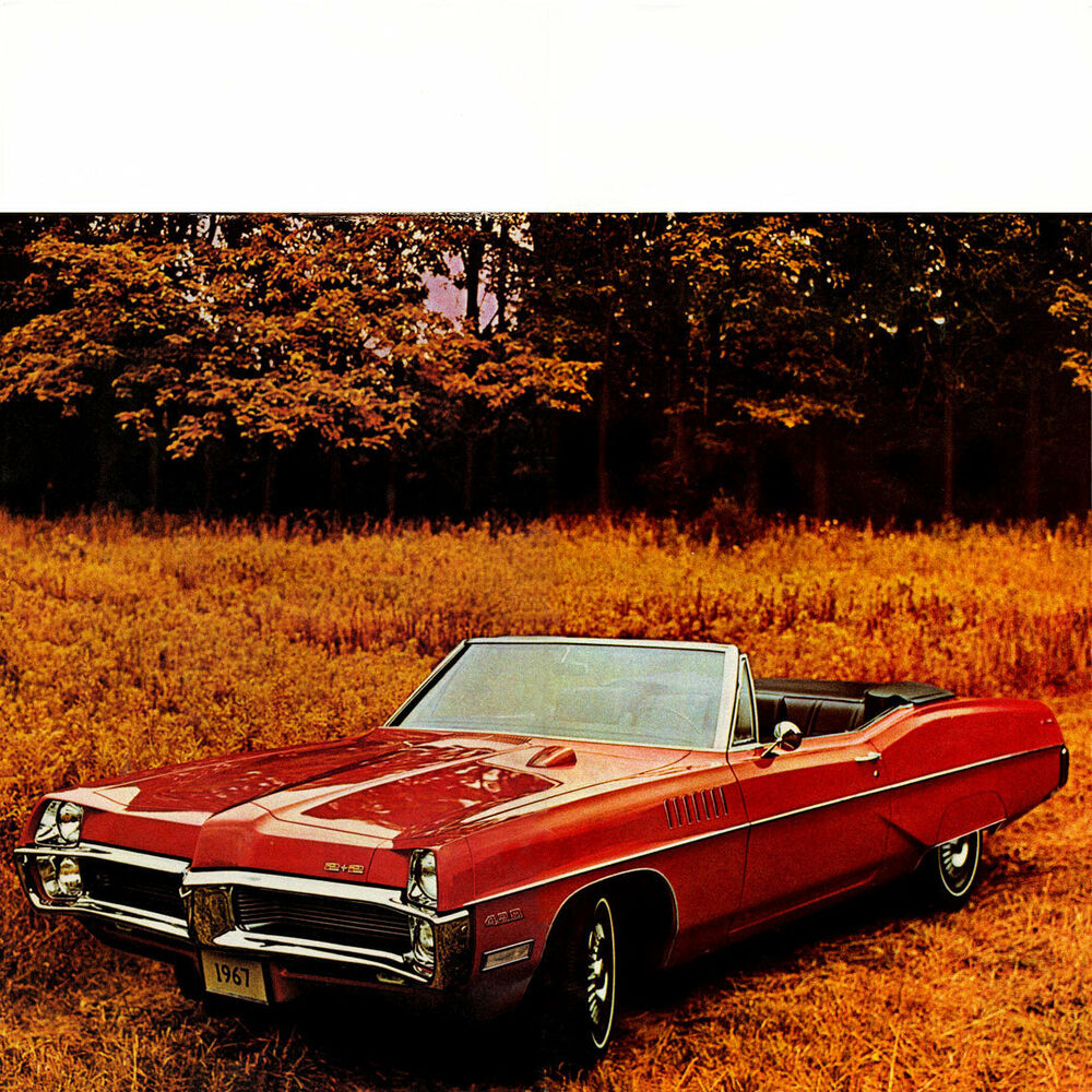 Details About 1967 Pontiac Catalina 2 Convertible Red Refrigerator Magnet 40 Mil