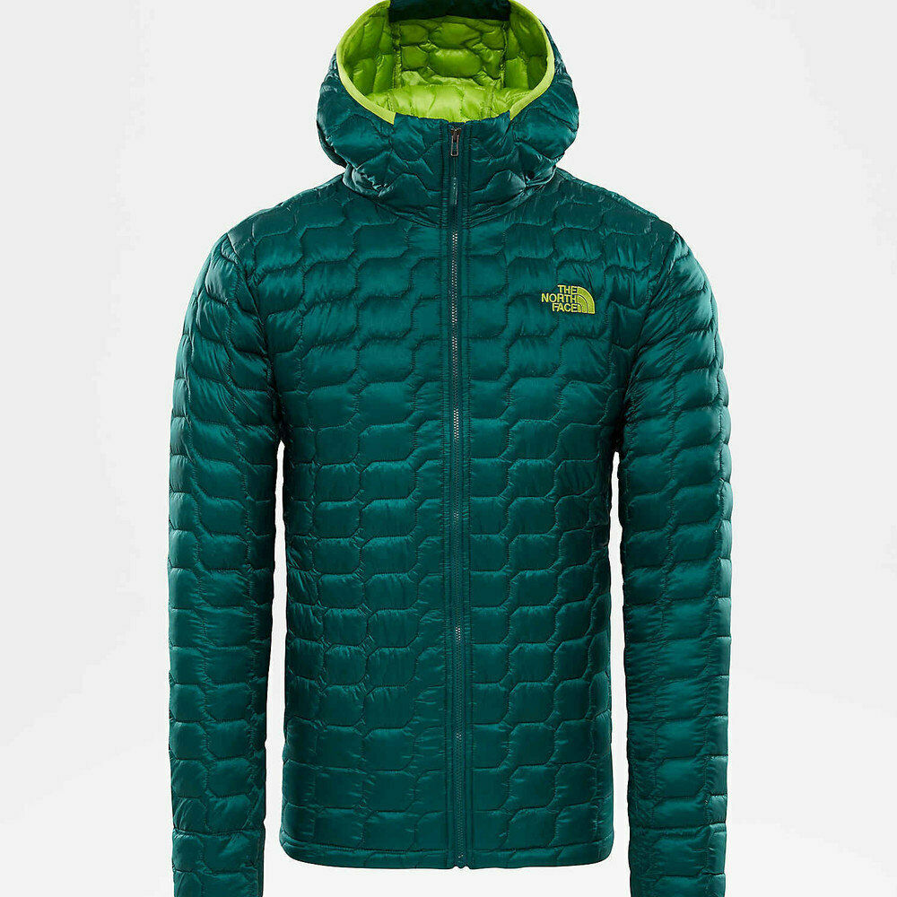 Details about The north face thermoball jacket hoody botanical garden green  giacca piumino new 90eb818f9ee7