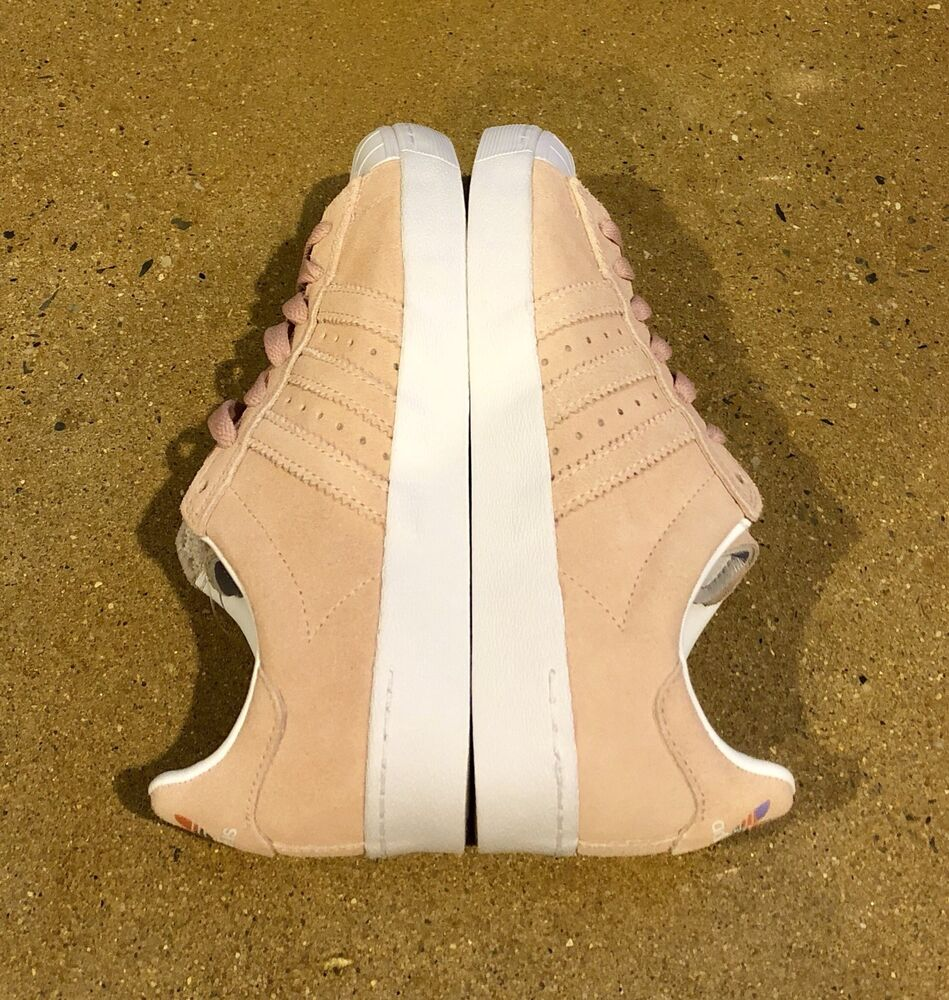 fea4b1f31108 Details about Adidas Skateboarding Superstar Vulc ADV Pastel Pink Size 5 US  Men s Skate Shoes