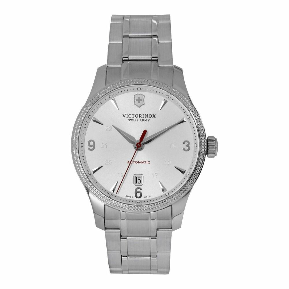 9f8cd388711 Victorinox 241715.1 Swiss Army Alliance Men s Automatic Stainless Steel  Watch 7630000719492