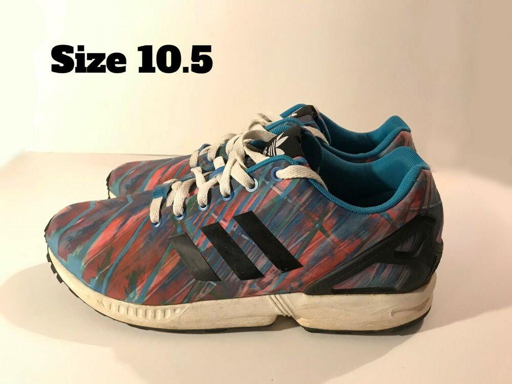 3da608bbd Details about Adidas ZX Flux Pink Blue Size 10.5 Men s