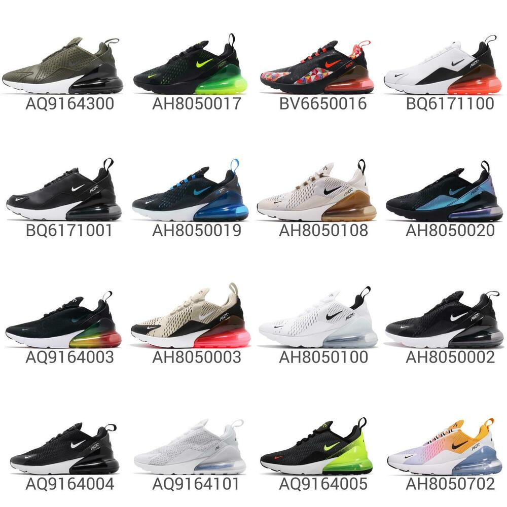 Details about Nike Air Max 270 Mens Running Shoes Lifestyle Sneakers  Trainers Footwear Pick 1 c5f3fb02d