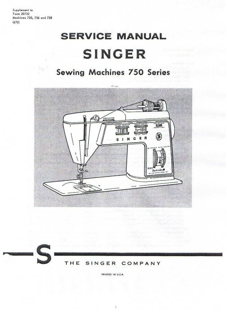 Singer Golden Touch Sew Sewing Machine 40 40 40 Service Repair Magnificent Singer Sewing Machine Service Manual