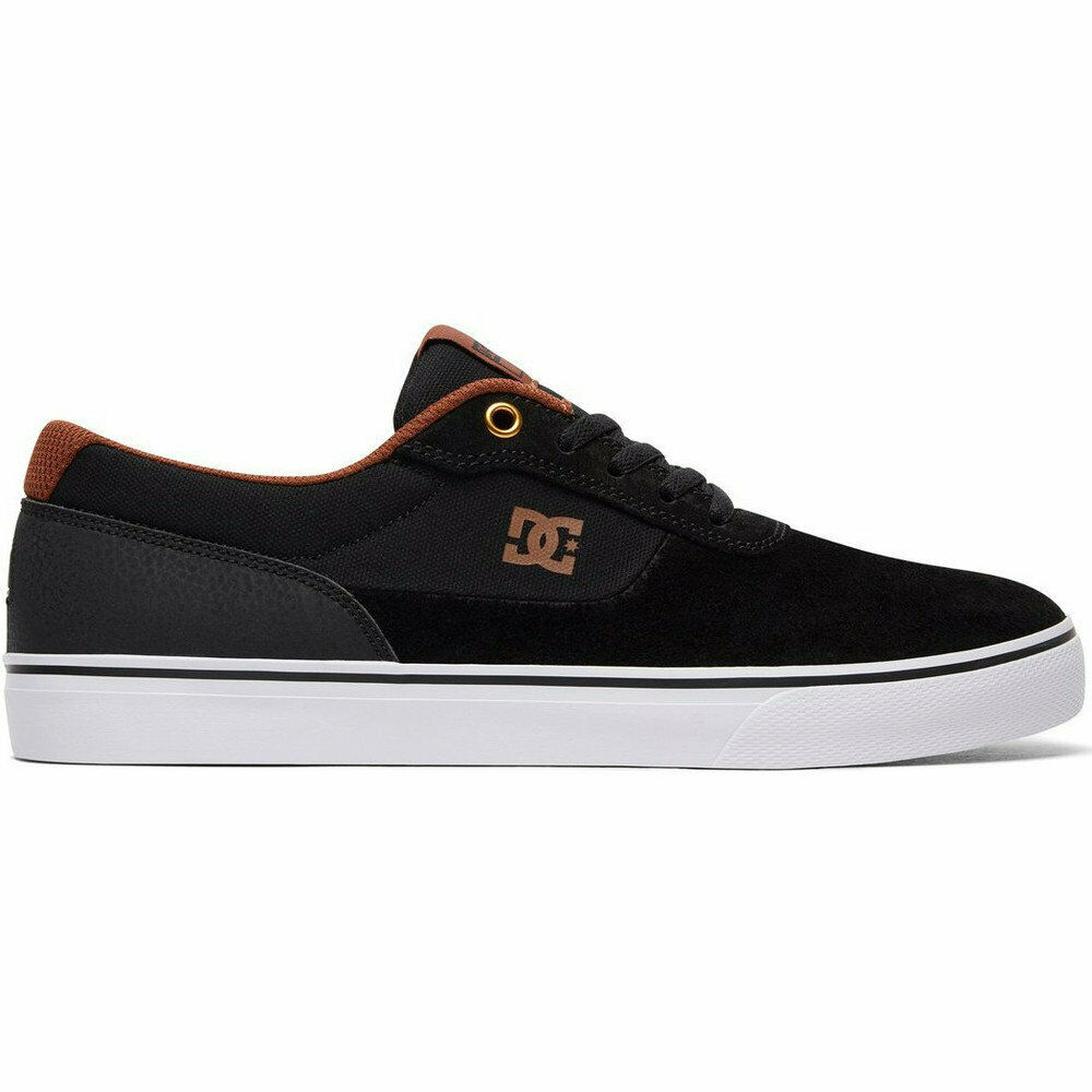 0eddc12dc8 Details about DC SHOES SWITCH S BLACK WHITE BROWN SS 2018 40 41 SHOES NEW  SKATE