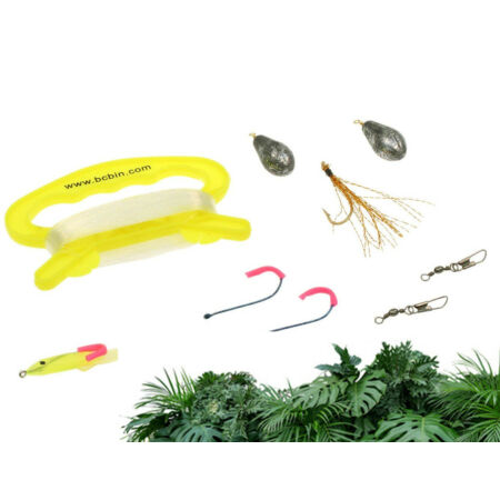 img-Survival Fishing Kit 36m Line 2 Lures 2 Hooks 2 Weights