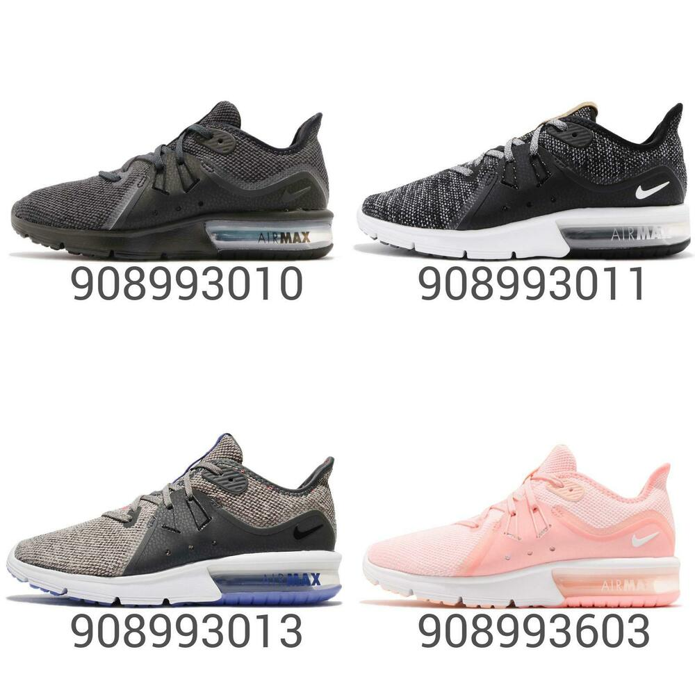 7553df6214 Details about Wmns Nike Air Max Sequent 3 III Women Running Shoes Sneakers  Trainers Pick 1
