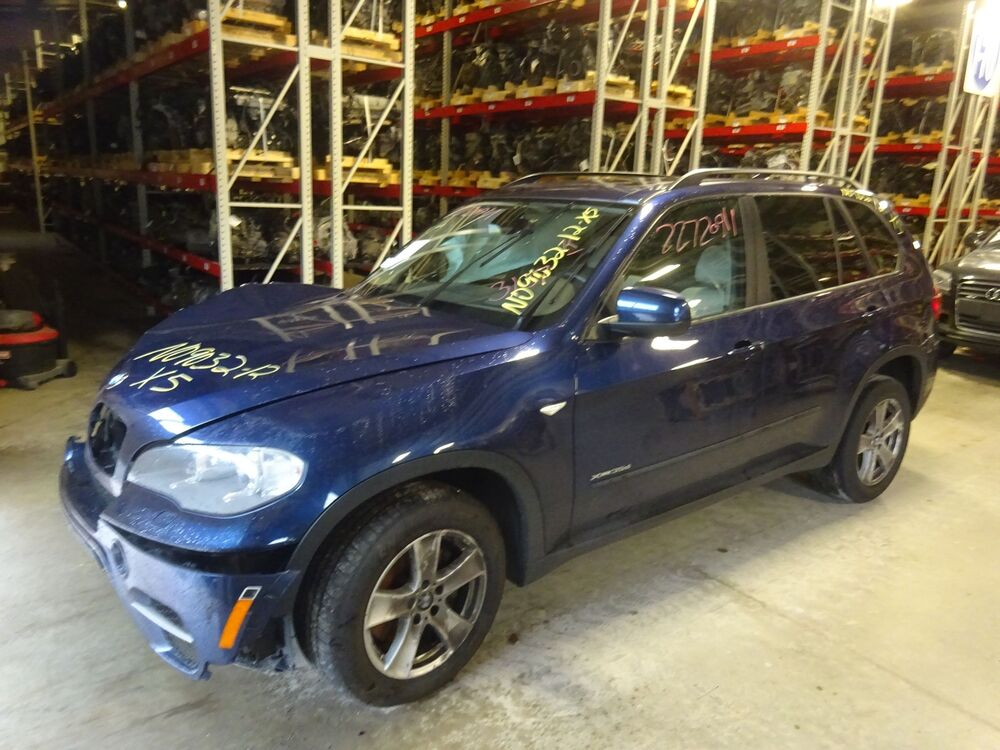 Automatic Transmission Out Of A 2012 Bmw X5 3 0l Diesel With 77 472 Miles Ebay