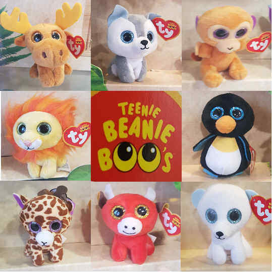 Details about McDonalds Happy Meal Toy 2017 TY TEENIE BEANIE BOOS Baby Wild  Animals - VARIOUS 71a029432fe