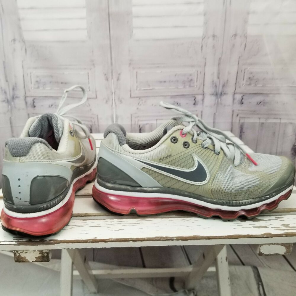 on sale 97ba6 19c84 Details about Nike airmax flywire air max Women 8.5 2010 shoe sneaker  386374-016 running run