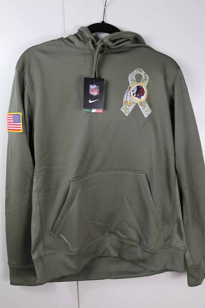 huge selection of f04dd 01dea Nike Hoodie Salute to Service STS Washington Redskins Size Small New with  Tags 887231349951 | eBay