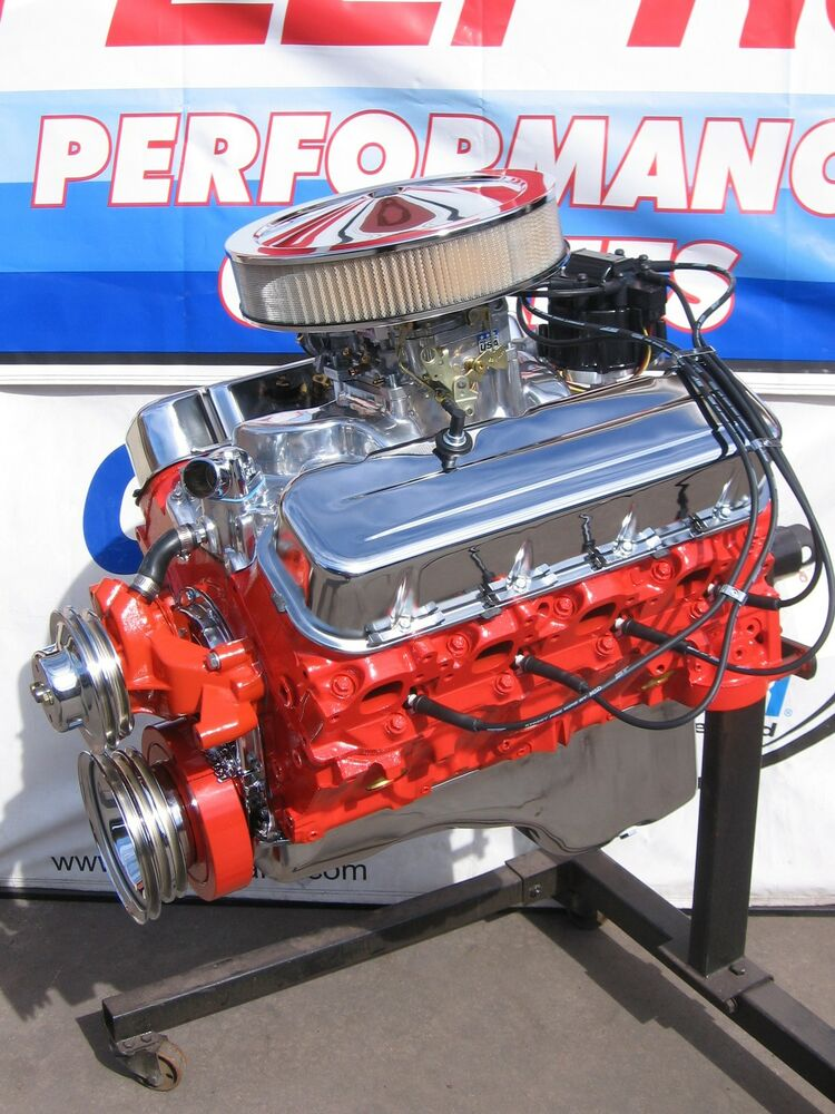 CHEVROLET 454 / 450 HP HIGH PERFORMANCE TURN-KEY CRATE ENGINE / CHEVY | eBay