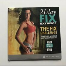 21 Day Fix EXTREME The Fix Challenge NEW Sealed DVD Beachbody Bodyweight Workout