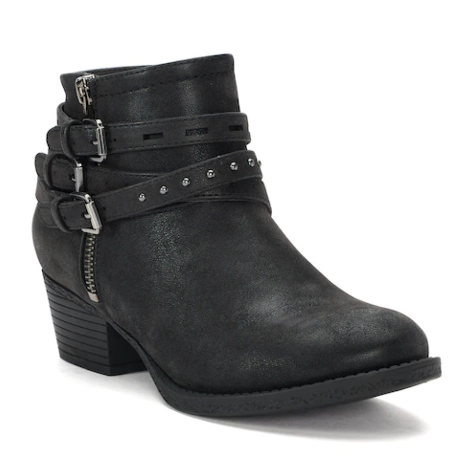 973c99fa242 NWT Women s SONOMA Goods for Life Ruler Ankle Boots Shoes Choose Size Black