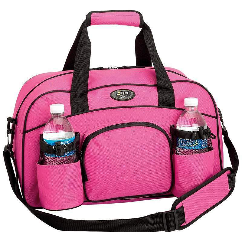 326293b0e4 Details about Womens Pink Tote Bag Sports Duffle Bag Workout Gym Bag Yoga  Bag Carry On Luggage