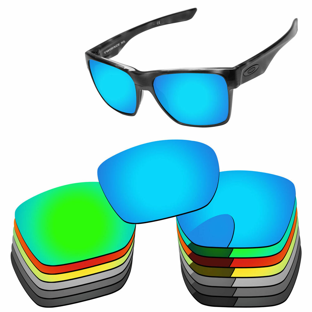 7f5f707124 Details about PapaViva Polarized Replacement Lenses For-Oakley TwoFace XL  Sunglass -Options