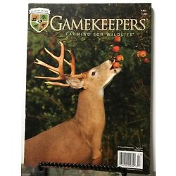 Gamekeepers Farming For Wildlife Hunting Plot Ponds Fall 2015 FREE SHIPPING JB