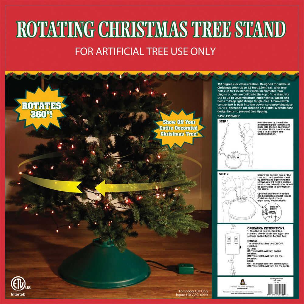 CHRISTMAS TREE ROTATING STAND EZ ROTATE ** FOR ARTIFICIAL ...