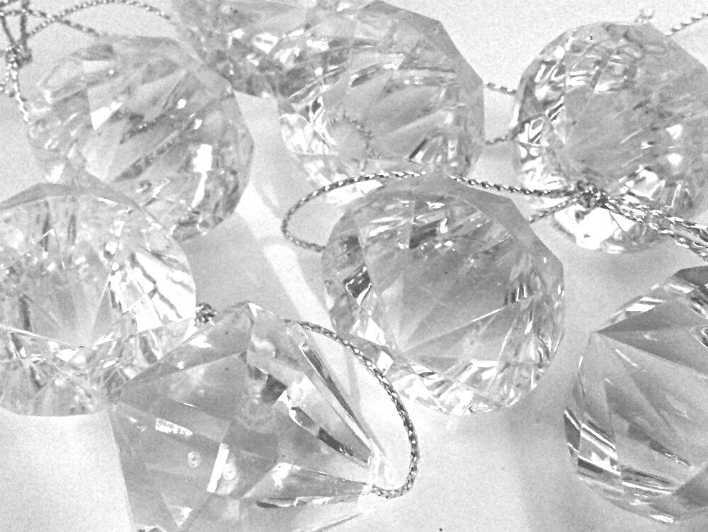 Acrylic Diamond Decorations Wedding Table Decorations Hanging