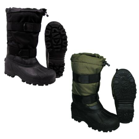 img-Warm Boots Thermal Shoes Bundeswehr Winter Boots Black Olive